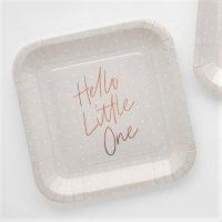 Hello Little One pahvilautaset, 10 kpl