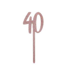 Kakkukoriste 40, ruusukulta