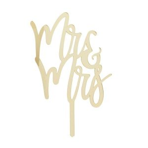 Mr & Mrs kakkukoriste - kulta