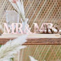 Mr & Mrs kyltti Pampas ruusukulta