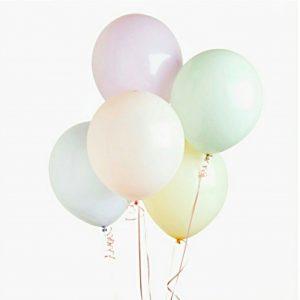Pastellit ilmapallot, 5 kpl