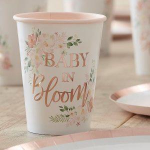 Pahvimukit Baby In Bloom