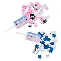 Gender Reveal konfettiputket, 2 kpl
