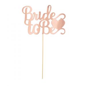 Kakkukoriste Bride To Be, ruusukulta