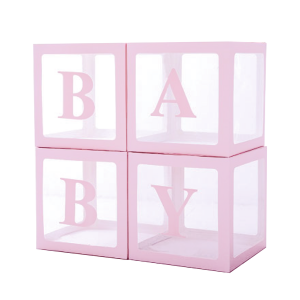 Ilmapallolaatikot BABY, v.pun.