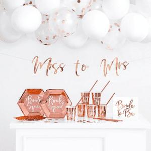 Team Bride - roosa ja ruusukulta