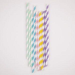 Paperipillit pastelli-MIX, 25 kpl