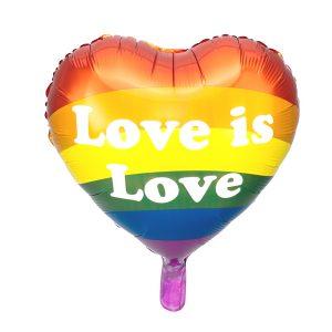 Pride ilmapallo Love is Love