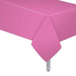 Pinkki paperipöytäliina 132 x 183 cm