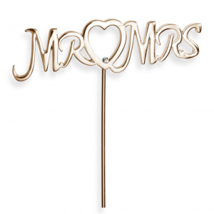 Mr & Mrs kakkukoriste ruusukulta