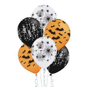 Halloween-ilmapallot, 6 kpl