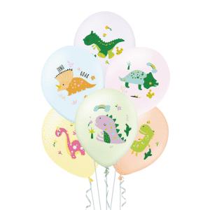 Dino ilmapallot, 6 kpl