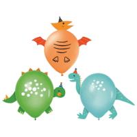 Dino ilmapallot, 3 kpl