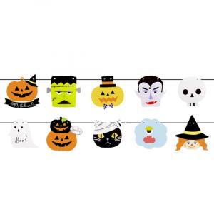 Halloween pahvihahmobanneri, 2 m