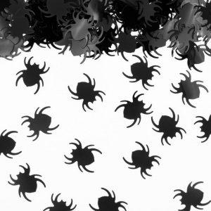 Mustat hämähäkkikonfetit