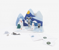 Joulukalenteri - Pohjoisen metsän eläimet 2