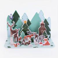 Joulukalenteri - metsän eläimet