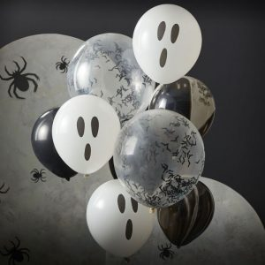 Halloween ilmapallokimppu, 9 palloa