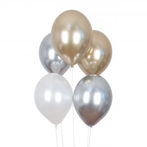 Metallihohtoiset ilmapallot, 10 kpl