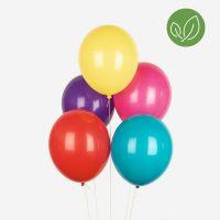 Värikkäät ilmapallot, 10 kpl